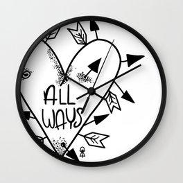 All Ways Wall Clock