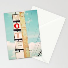 motel Stationery Cards
