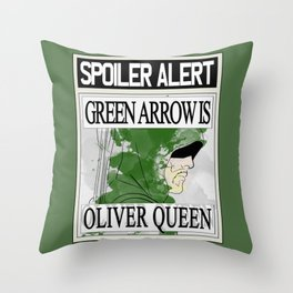 Spoiler alert! GA Throw Pillow