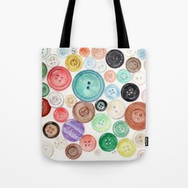 Buttons! Tote Bag