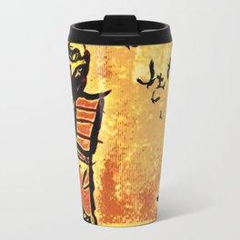 Samurai Woman (Onna-bugeisha) Travel Mug