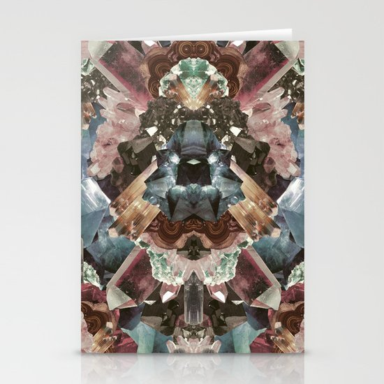 Crystal Collage Stationery Cards