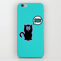 yolo iPhone & iPod Skins featuring Yolo? by Marvin Porcher