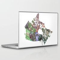 canada Laptop & iPad Skins featuring Canada by minouette