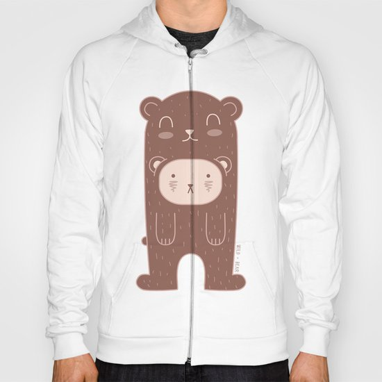 WILD + BEAR print Hoody