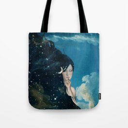 Shhh...Lady Night Is Coming Tote Bag