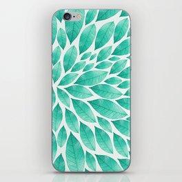 Petal Burst #12 iPhone Skin
