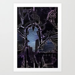 chlorine Art Print
