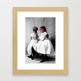 ruined vintage Framed Art Print