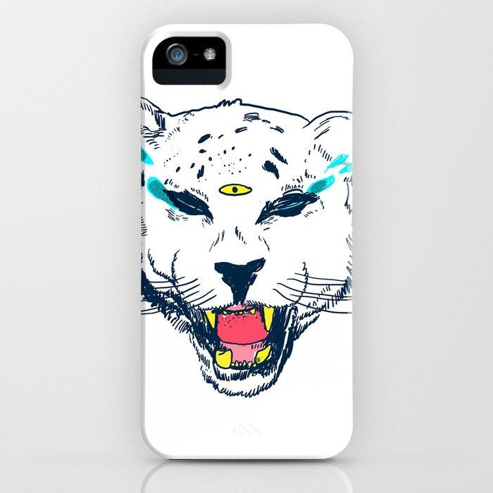 leopard tears iPhone Case