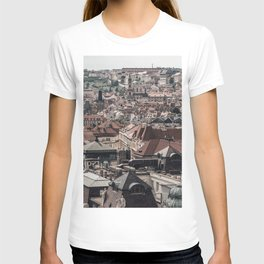 Prague Rooftop 04 T-shirt