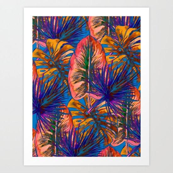 My Tropical Garden 8 Art Print
