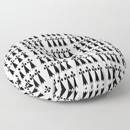 Hermine -Ermine-armino 2 Floor Pillow