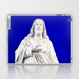 Jesus Twilight Statue Laptop & iPad Skin