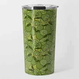 Lime Greenery Travel Mug