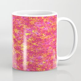 Falling Leaves in Autumn; Fluid Abstract 48 Coffee Mug
