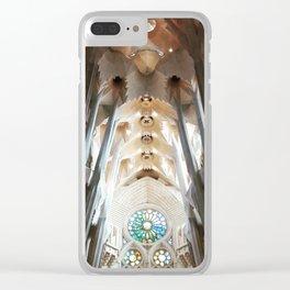 Sagrada Familia Clear iPhone Case