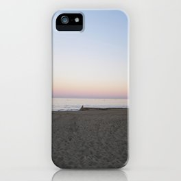 Winter Sunset By The Sea  iPhone Case