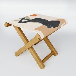 Nude Folding Stool