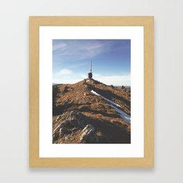 Chasseral Framed Art Print