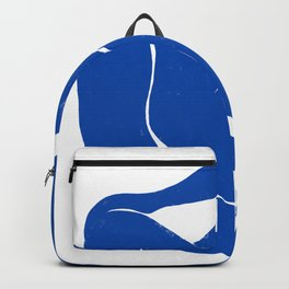 Whispering Nude in Matisse Blue Backpack