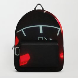 Fuel Gauge, Full Tank, Car Fuel Display Backpack