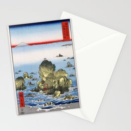 Hiroshige - 36 Views of Mount Fuji (1858) - 27: Futami Bay in Ise Province Stationery Cards