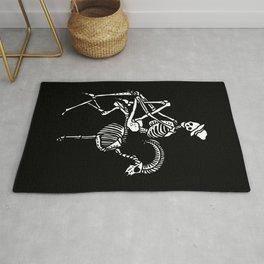 Skeleton Sit on the Goat Rug