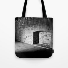 Cold Fireplace Tote Bag