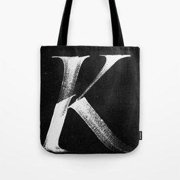 /K/ Tote Bag