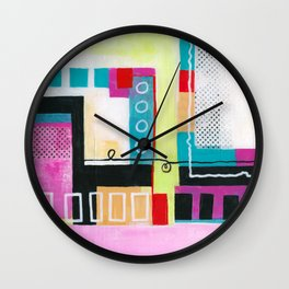 Determined Direction Wall Clock