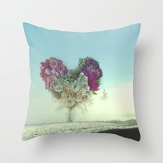 Hearts Don't Grow On Trees Throw Pillow