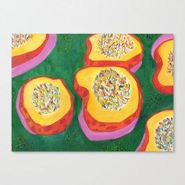 Wild Rice Carnival Squash part 1 Canvas Print