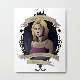 Buffy - Buffy the Vampire Slayer Metal Print