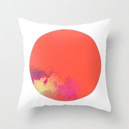 Vivid Planet 10 Throw Pillow
