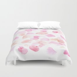 180527 Abstract Watercolour 3 | Watercolor Brush Strokes Duvet Cover