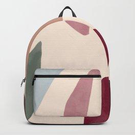 Color Stones Biege Path Backpack