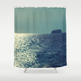 Santorini, Greece 18 Shower Curtain