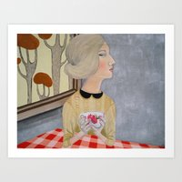 * SO LONELY * Art Print