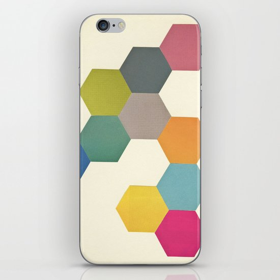 Honeycomb I iPhone & iPod Skin