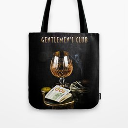 Gentlemen's Club Tote Bag