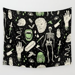 Whole Lotta Horror: BLK ed. Wall Tapestry