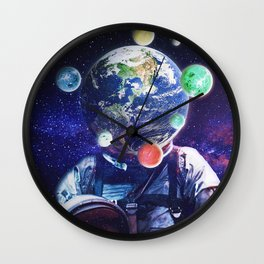 Orbital Complexion Wall Clock