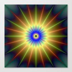 Radient Star Canvas Print