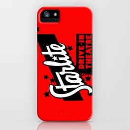 Starlite Drive In Red iPhone Case