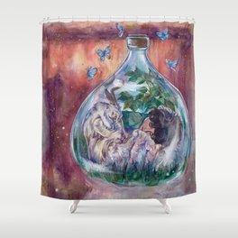 I Choose Love Shower Curtain