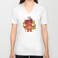 captain hook V-neck T-shirts featuring Captain Bear Hook by pepemaracas