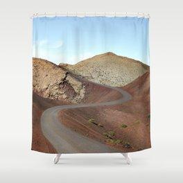 Lanzarote Landscapes - Spain Shower Curtain