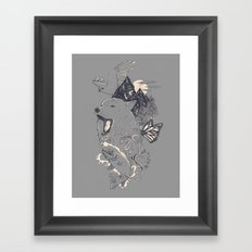 Northern Americana  Framed Art Print