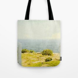 Pemaquid Point, Gate to the Ocean  Tote Bag